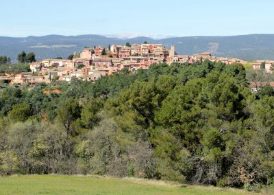 Le village perché de Roussillon