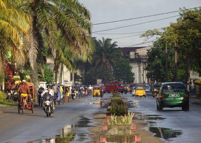 La ville de Tamatave